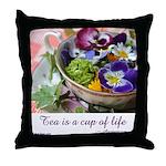 Cup of Life Throw Pillow