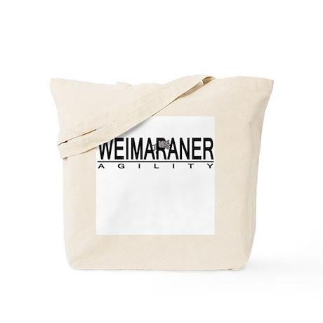 Weimaraner Agility Tote Bag