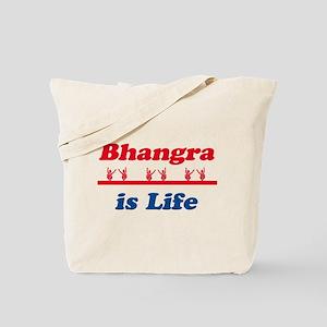 Bhangra Is Life Tote Bag