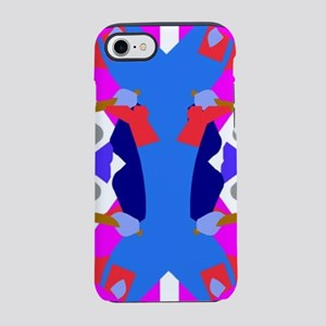 colorful pattern iPhone 8/7 Tough Case