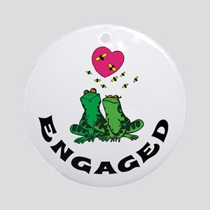 Engaged Ornament (Round)