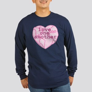Love One Another Long Sleeve Dark T-Shirt