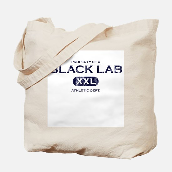Property of Black Lab Tote Bag