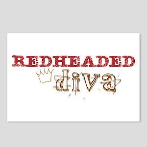 Redheaded Irish Diva Postcards (Package of 8)