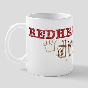 Redheaded Irish Diva Mug