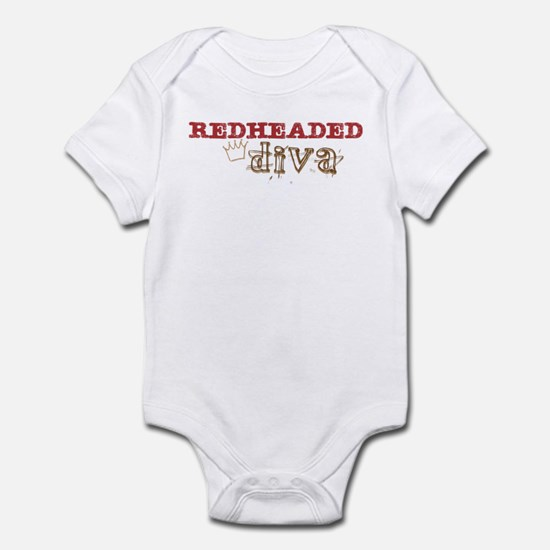 Redheaded Irish Diva Infant Bodysuit