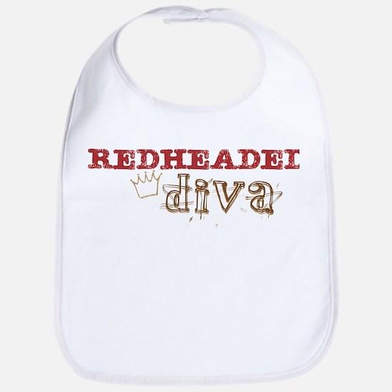 Redheaded Irish Diva Bib