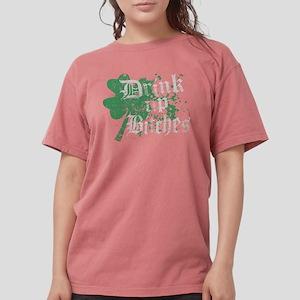 Drink Up Bitches St Pattys Day Women's Dark T-Shir