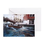 Venice Oil Painting Greeting Cards (Pk of 20)