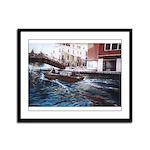 Venice Framed Panel Print