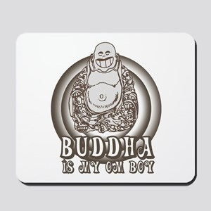 Retro Buddha Is My Homeboy Mousepad