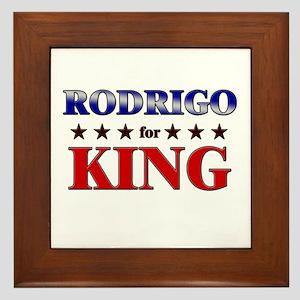 RODRIGO for king Framed Tile