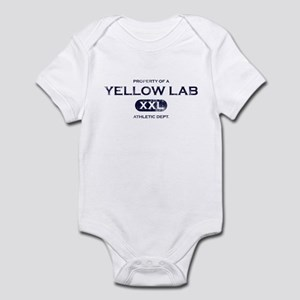 Property of Yellow Lab Baby Bodysuit
