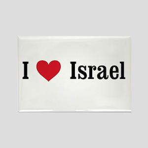 I Heart Israel Rectangle Magnet