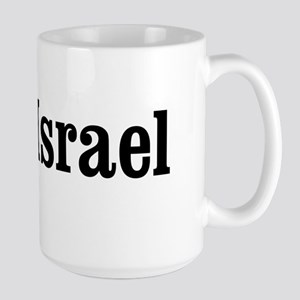 I Heart Israel Large Mug
