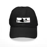 Shark Formal Black Cap