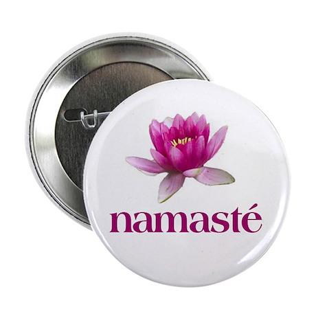 "Namasté 2.25"" Button (10 pack)"