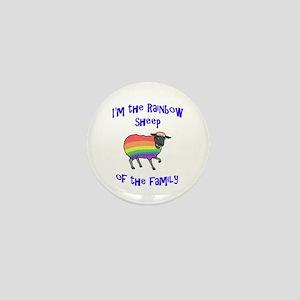 Rainbow Sheep of the Family Mini Button