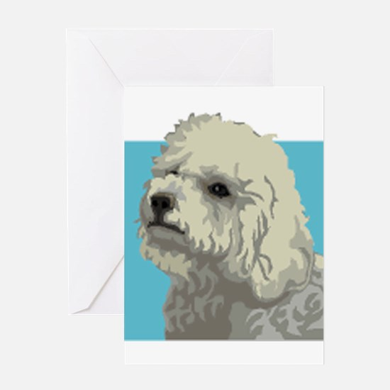 Bolognese dog Greeting Card