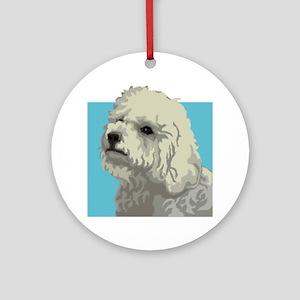 Bolognese dog Ornament (Round)