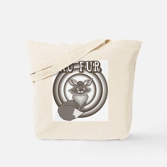 Retro No Fur Tote Bag
