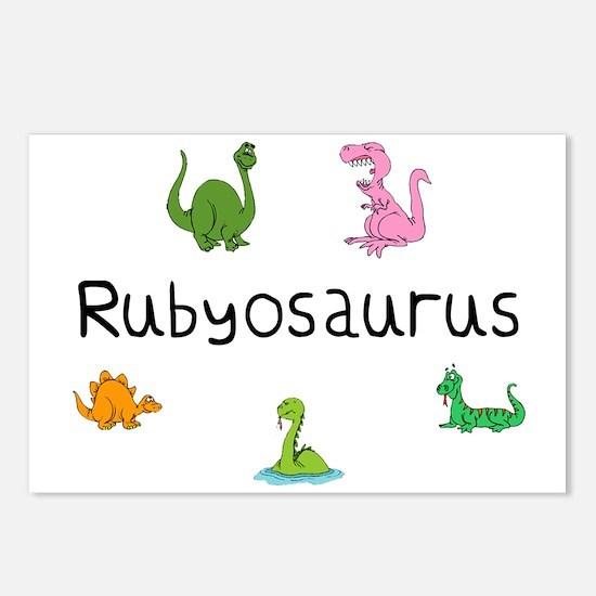 Rubyosaurus Postcards (Package of 8)