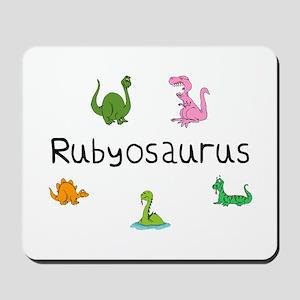 Rubyosaurus Mousepad