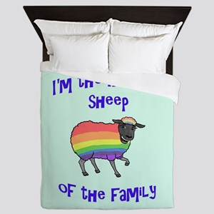 Rainbow Sheep of the Family Queen Duvet