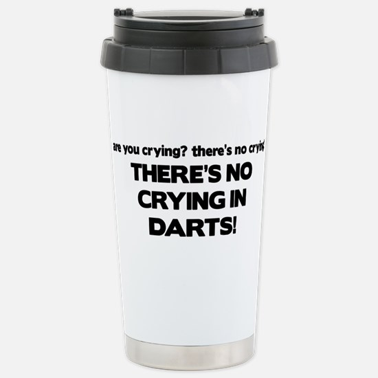 There's No Crying in Darts Mugs