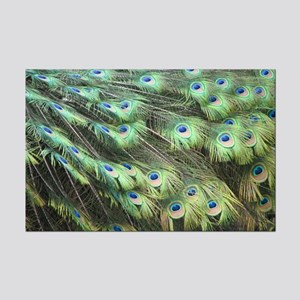 Helaine's Peacock Feathers Mini Poster Print
