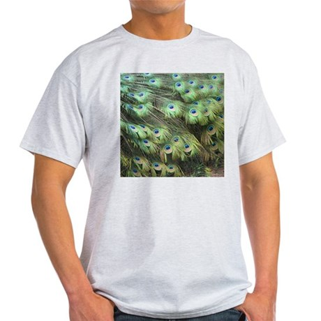 Helaine's Peacock Feathers Light T-Shirt