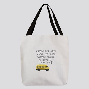Bus Driver Quote Polyester Tote Bag