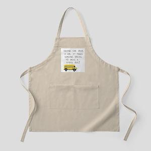 Bus Driver Quote Light Apron