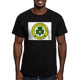 San patricio battalion Fitted Dark T-Shirts