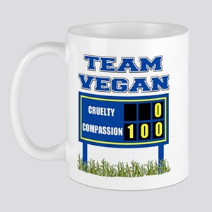 Team Vegan Mug