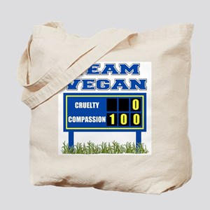 Team Vegan Tote Bag