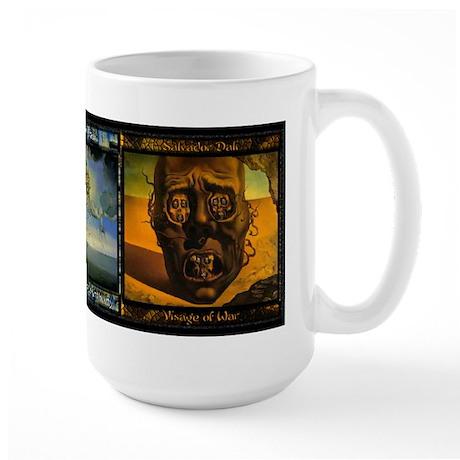 Salvador Dali Art - Large Mug