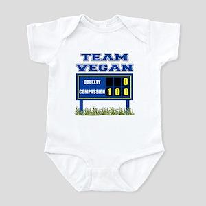Team Vegan Infant Bodysuit