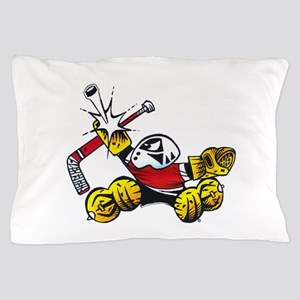 Small Saves The Hockey Goalie Pillow Case