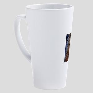 Lightening Polar Bear 17 oz Latte Mug