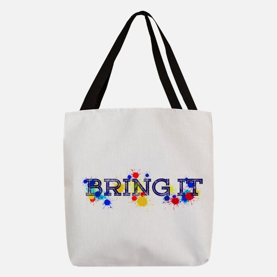 BRING IT Polyester Tote Bag