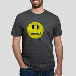 SMILEY FACE ZIP I T-Shirt