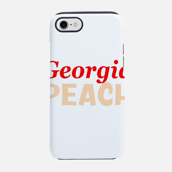 Georgia peach iPhone 8/7 Tough Case