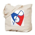Music for the Heart Tote Bag