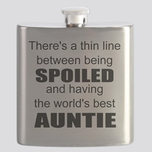 Funny auntie Flask