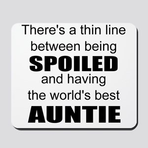 Funny auntie Mousepad