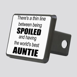 Funny auntie Rectangular Hitch Cover