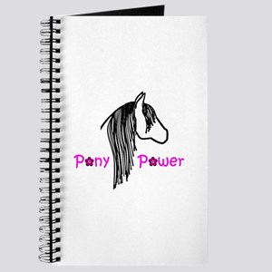 Pony Power Pink Journal