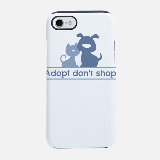 adopt don't shop iPhone 8/7 Tough Case