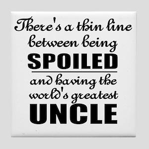 uncle Tile Coaster